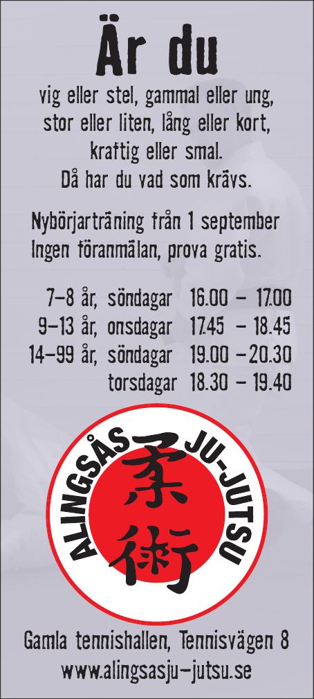 Annons AJJK Hösten 2014
